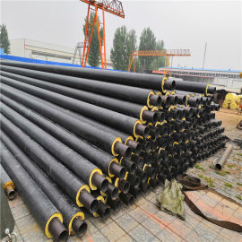 聚氨酯保温螺旋钢管 DN100/114聚氨酯供热管道无锡