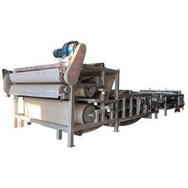 污泥处理设备 洗砂污泥脱水机 三网带式压滤机
