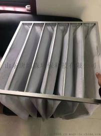 空调过滤器厂家 袋式中效过滤器效率F5F6F7F8