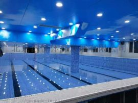 钢结构游泳池  拼装式游泳池