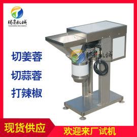 湖南永州辣椒制品生产设备 辣椒切碎机