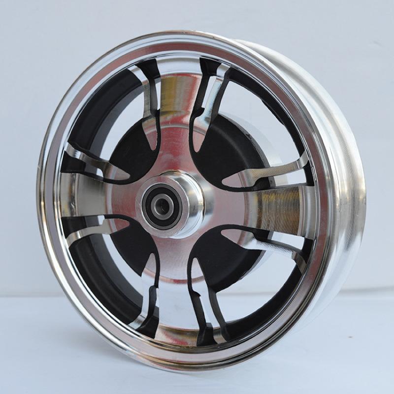 電動車輪轂8寸摺疊車100鼓剎鋁輪老年代步車鋁輪