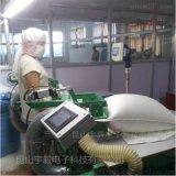 棉絨一體機;全自動充絨機