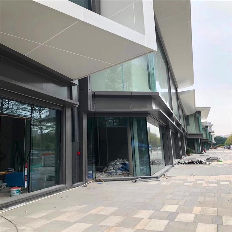 大廳立柱包邊鋁單板 雨棚包邊凹凸造型鋁單板