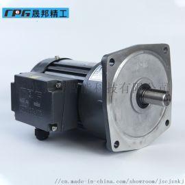 立式高速比附三相缩框铝壳(剎车)马达减速机