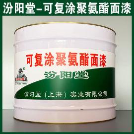 可复涂聚氨酯面漆、防水,防漏,性能好