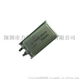702035高倍率聚合物**电池 450mAh耐高温PDA对讲机热敏打印机电池