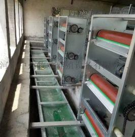 层叠式小鸡笼阶梯式蛋鸡笼 自动送料机 捡蛋机 中州鸡笼厂
