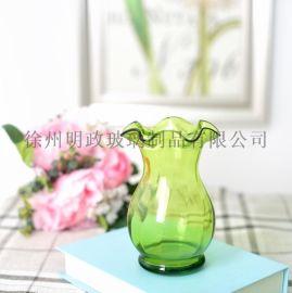 简约花瓶欧式花瓶玻璃花瓶透明花瓶水培瓶装饰花瓶