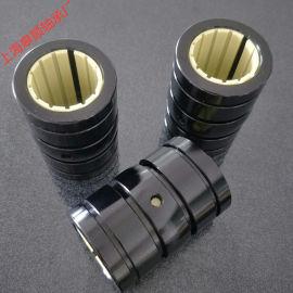 上海皋顺 工程塑料轴套 直线滑动轴承调心自润滑铝壳