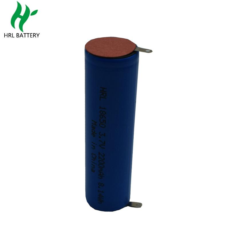 18650 2200mah3.7V 美容儀圓柱電池
