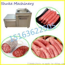 广东香肠液压灌肠机 大型全自动驴肉焖子灌装机