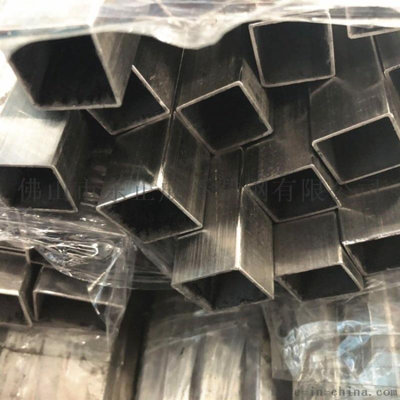 湖南拉丝304不锈钢矩形管100*100*5.0