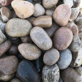 北京混色0.5-1厘米天然鹅卵石净水污水滤料