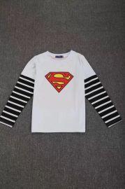 正品漫威超人兒童長袖動漫人物童裝服裝兒童正品服裝