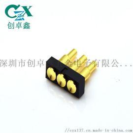 大电流工厂定制插板弹簧针连接器