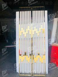 镜面不锈钢屏风钛金不锈钢屏风现代轻奢不锈钢屏风定制