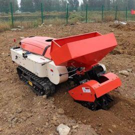 多功能链轨式田园管理机 履带微耕开沟机 播种施肥机