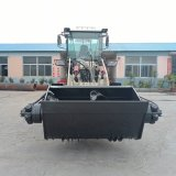 自铲料搅拌运输一体车 新型混凝土自上料搅拌车