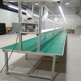 车间生产线 防静电工作台双面带灯 装配维修操作台