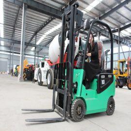 新能源电动叉车 四轮座驾式电动叉车 1吨2吨升降搬运车