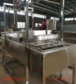 油炸机器豆巴机 花生饼机是哪个厂家研发先做的机器
