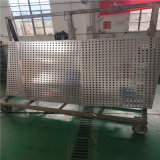铝合金圆孔外墙铝单板 白色圆孔吸音铝单板厂家