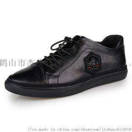 杰华仕休闲鞋 皮鞋OEM贴牌 鞋贴牌加工 皮鞋代工