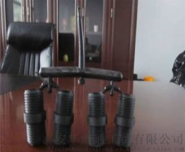 黑色PVC钢塑料颗粒 矿用双丝头管件注塑料