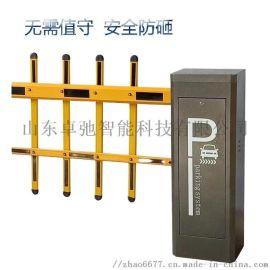 小区停车场自动收费管理系统直杆广告栅栏道闸一体机