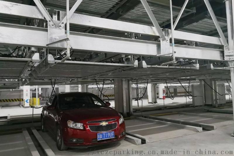 武漢雙層升降橫移立體停車庫設計,武漢立體車庫維保