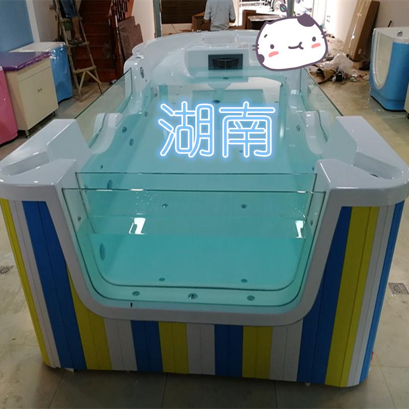 双面玻璃婴儿游泳池,婴儿洗浴池,儿童游泳设备