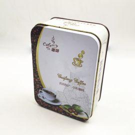 厂家定制咖啡豆马口铁盒 精品食品包装铁盒