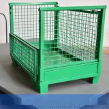廠家直銷摺疊式金屬網箱倉儲籠