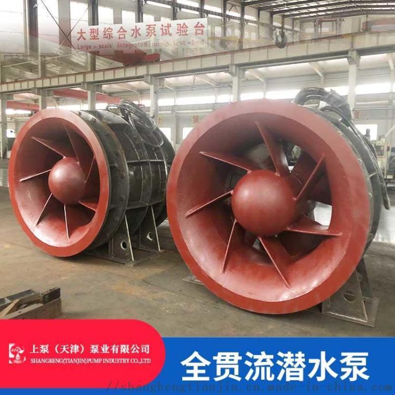 廣東中山1600QGWZ-550KW溼定子貫流泵
