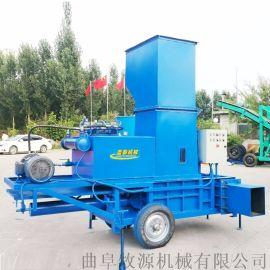 柴油青贮秸秆打包机玉米秸秆青储压块机
