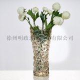 歐式金色花瓶輕奢風花瓶創意花瓶乾花花瓶