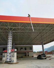 广州铝条扣天花厂家供应加油站防风吊顶铝扣板