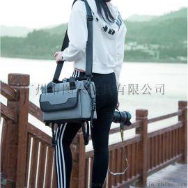 广州单反数码相机包 防水摄影包 多功能单肩斜挎包