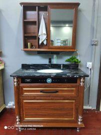 60升不挂墙电热水器集成浴室柜电热水器隐形电热水器