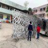 水汇馆门头雕刻铝单板 酒店门头雕刻铝板造型