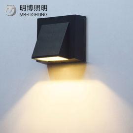 COB现代别墅酒店一束光壁灯 户外防水铝形壁灯外壳