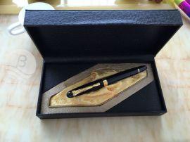 签字笔定制logo商务笔配礼盒金属笔套装会议礼盒笔