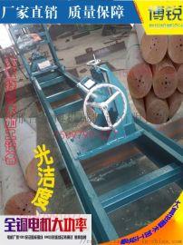 500毫米木梁机 大直径圆木车床 圆柱车圆机