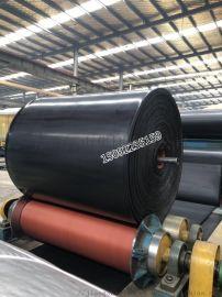 山东江山集团供应黑色橡胶输送带 重型橡胶传送带 运输带