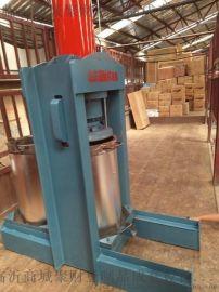 泰安全自动液压榨油机设备 液压式花生榨油机特点