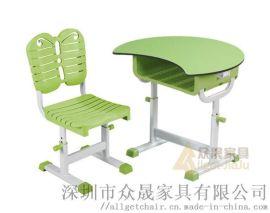 可升降单人课桌 中小学生课桌椅 智慧教室课桌椅