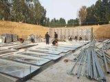 驻马店实验中学抗浮无底板消防泵站安装结束