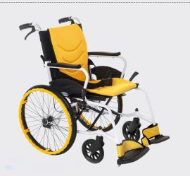 互邦旅游轮椅HBL30-12手动轮椅 折叠轮椅