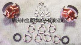 10.7*6.7*1.0三电极钛酸锶环形压敏电阻